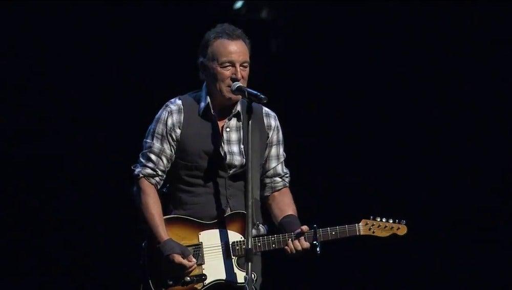 Bruce Springsteen en un concierto en Australia