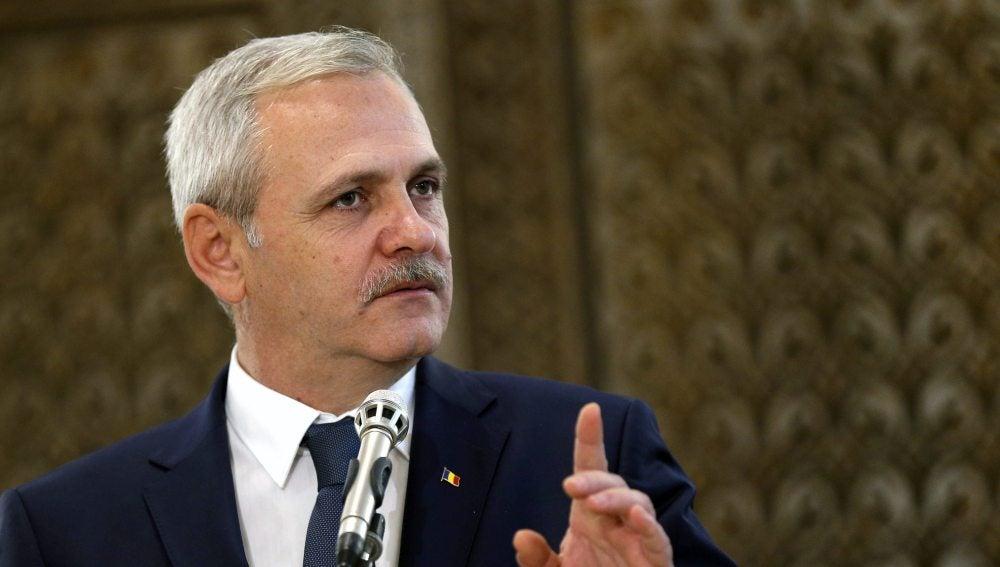 El líder del Partido Socialdemócrata rumano, Liviu Dragnea.