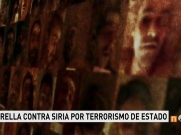 Frame 71.923099 de: Una española presenta una querella por torturas y ejecuciones masivas en Siria