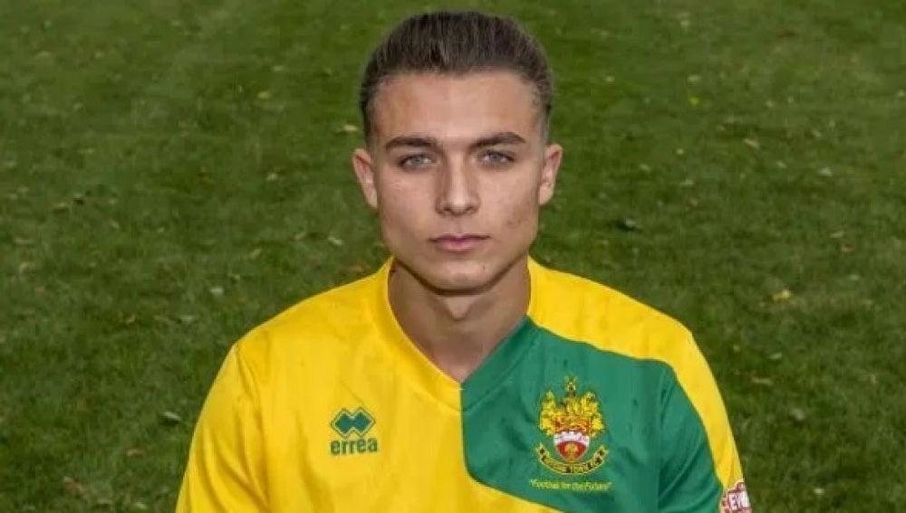 El futbolista Alfie Barker