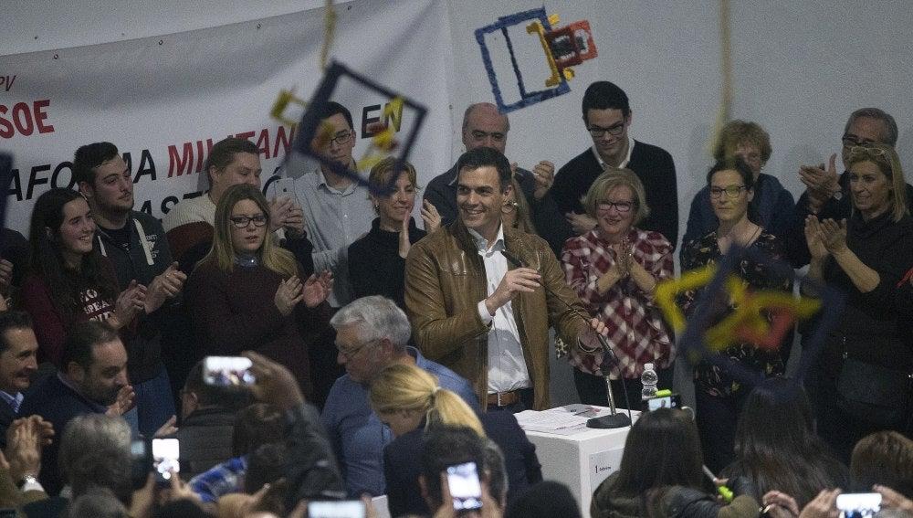 El exsecretario general del PSOE Pedro Sánchez