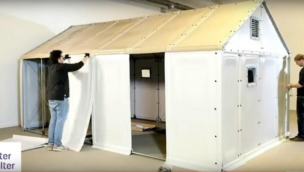ANTENA 3 TV | Una vivienda para refugiados creada por Ikea, el mejor ...