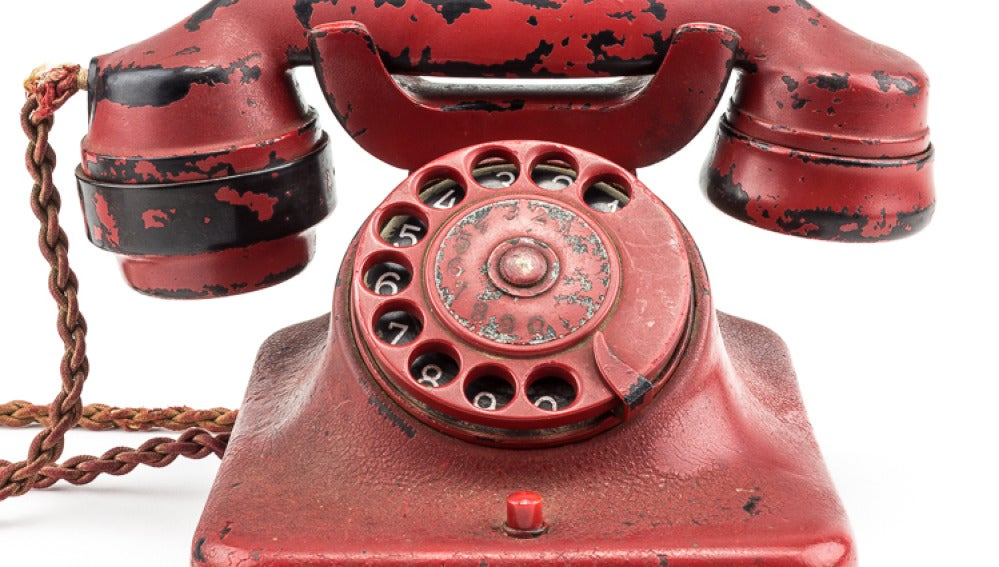 Teléfono que utilizó Hitler desde el búnker en los últimos años de la Segunda Guerra Mundial