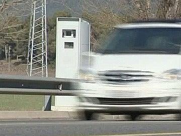 Radares en las carreteras