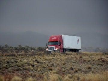 Camión en carretera