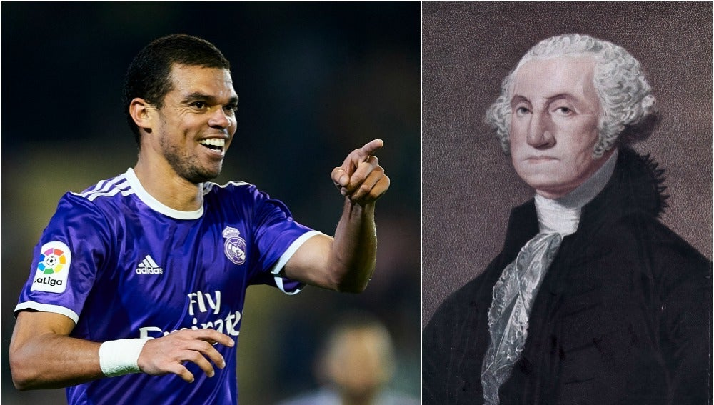 Pepe y George Washington