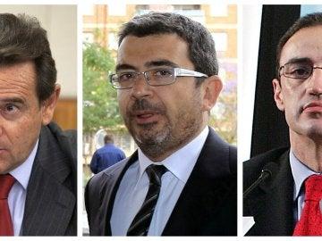 Los tres altos cargos detenidos
