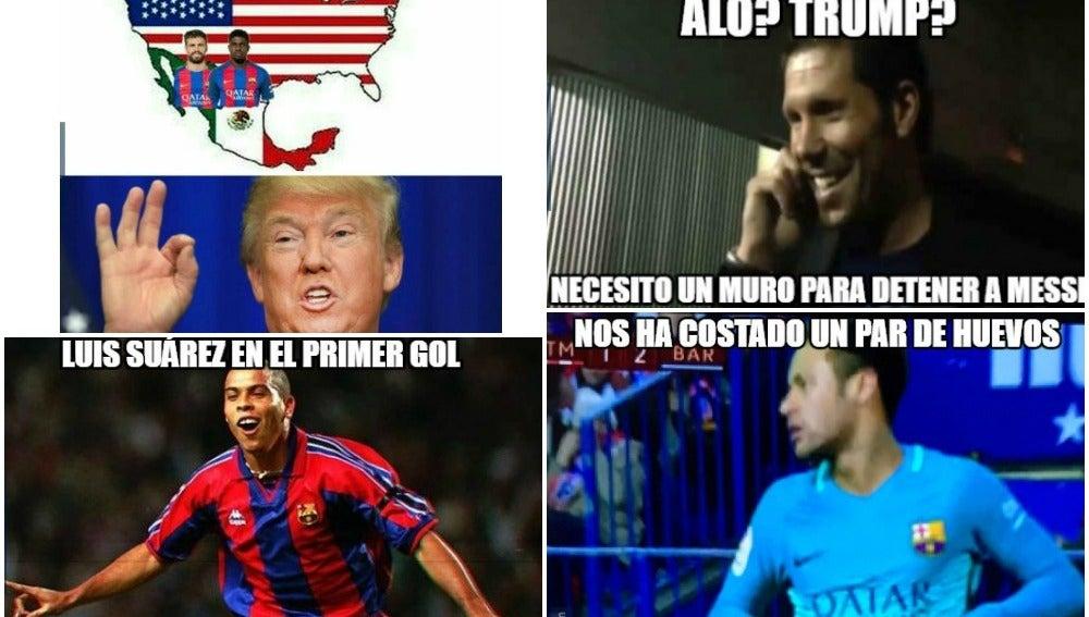 Los mejores 'memes' del Atleti-Barça