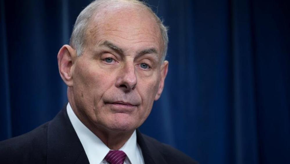 El secretario de Seguridad Nacional de EE.UU., John Kelly