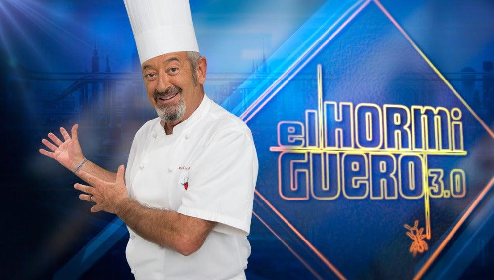 'El Hormiguero 3.0' se mete entre fogones con la visita del cocinero Karlos Arguiñano