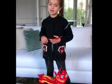 La nieta de Trump felicita el Año Nuevo a China
