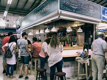 El Mercado de Vallehermoso, de bote en bote