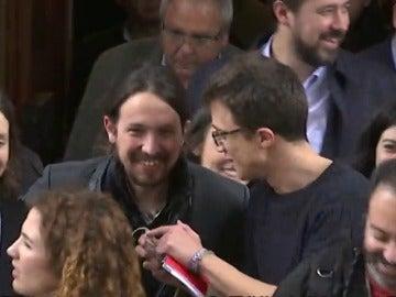 """Frame 8.833647 de: Errejón, seguro de que habrá """"generosidad a raudales"""" tras asamblea Podemos"""