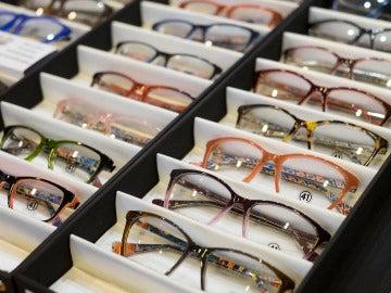 Expositor de gafas