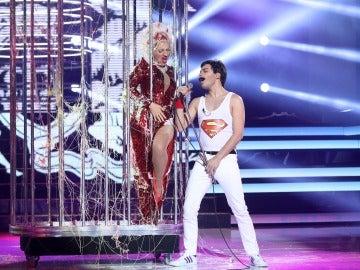 Blas Cantó se corona como el ganador de la decimocuarta gala como Freddie Mercury