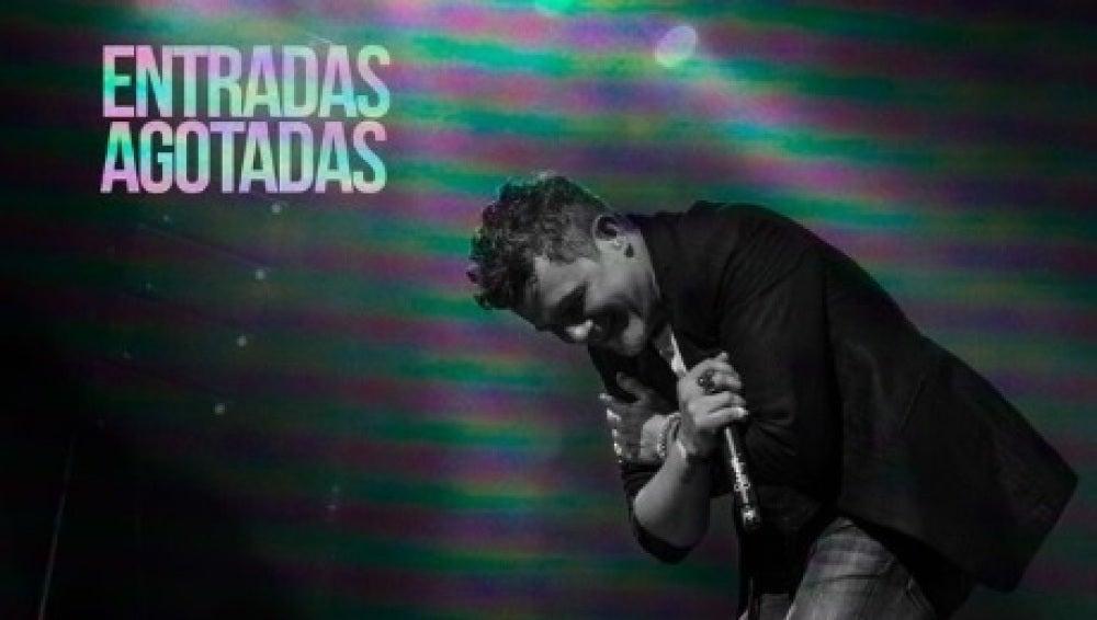 Entradas agotadas para el concierto de Alejandro Sanz