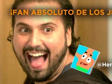 """Me declaro fan de los 'Jesuses'"""