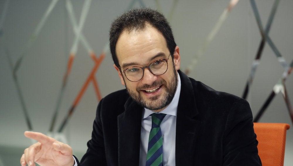 Antonio Hernando, portavoz del PSOE