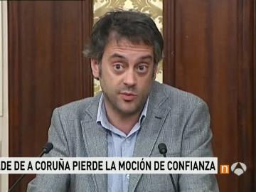 El alcalde de A Coruña. Xulio Ferreiro