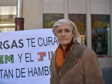 Beatriz Figueroa, la enferma de cáncer