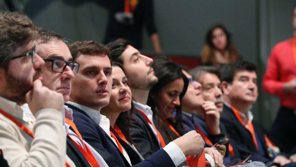 Albert Rivera, en el Congreso de Ciudadanos
