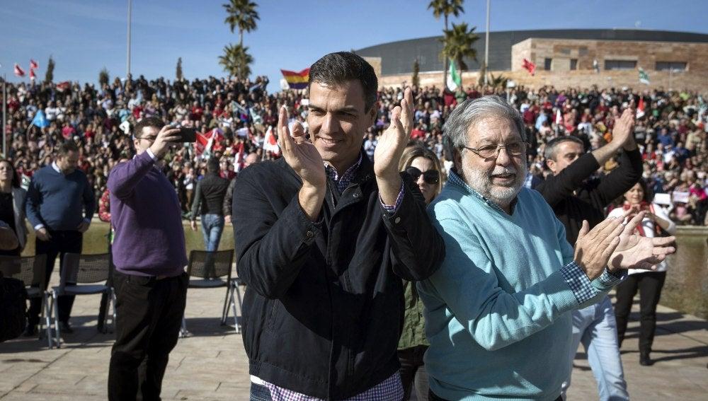El ex secretario general del PSOE, Pedro Sánchez