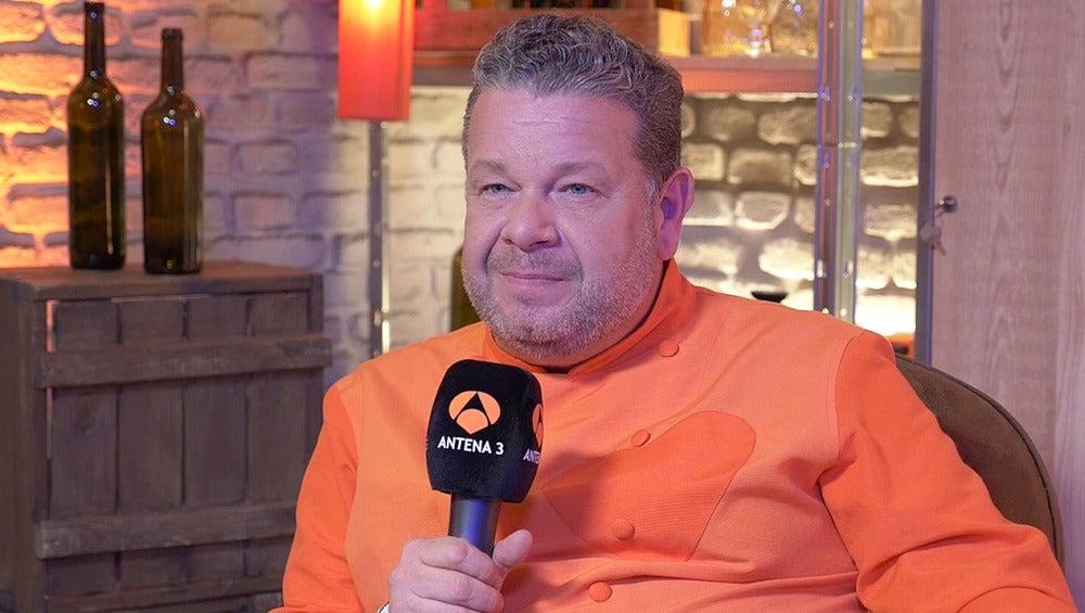 Alberto Chicote nos da las claves de la cuarta temporada de 'Top Chef'