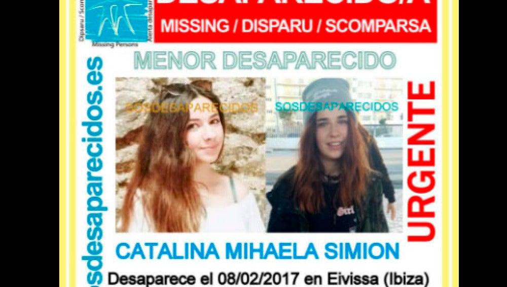 Niña desaparecida en Ibiza