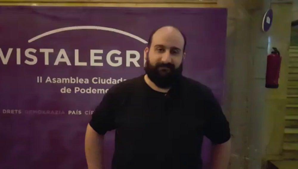 Frame 0.0 de: El jefe de prensa de Podemos explica cómo se ha preparado Vistalegre II