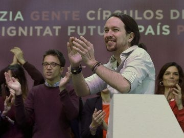 Pablo Iglesias en la apertura de Vistalegre II