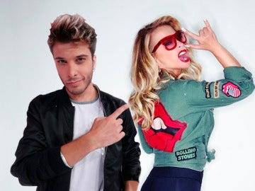 Blas Cantó y Anastacia