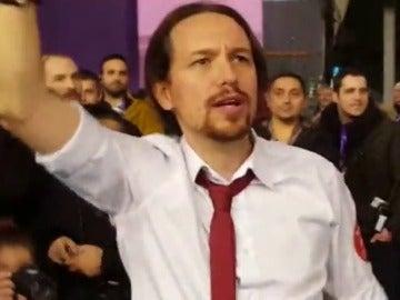 Iglesias celebra su proclamación como Secretario General