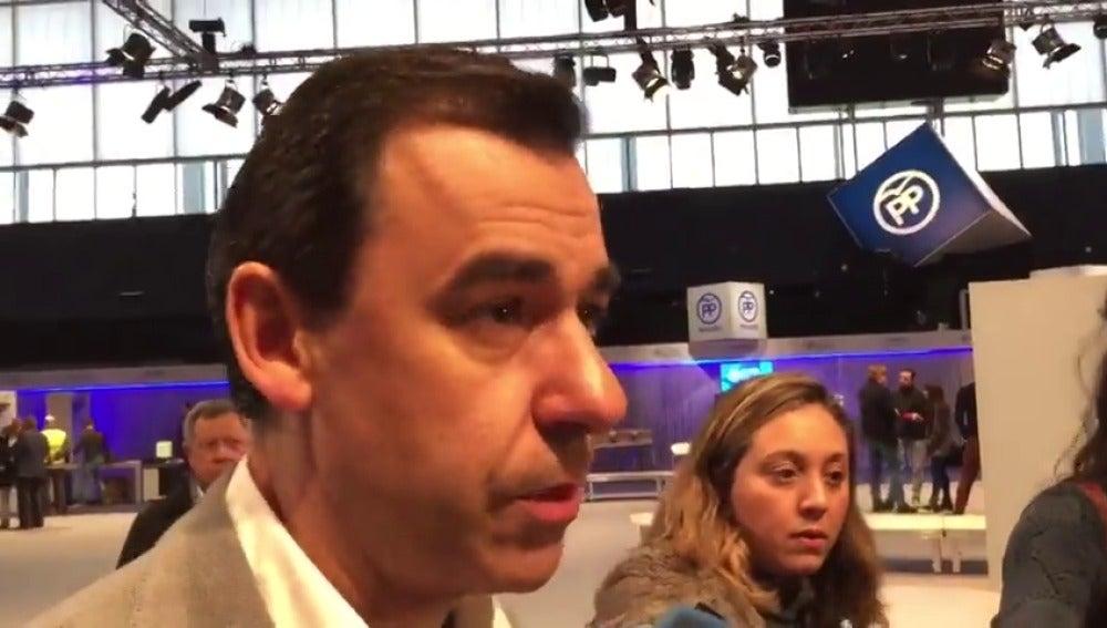 """Frame 8.54205 de: Martínez-Maillo, nuevo coordinador del PP: """"Lo vamos a hacer con mucha tranquilidad y mucho diálogo"""""""