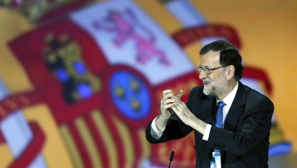 Mariano Rajoy, presidente del PP