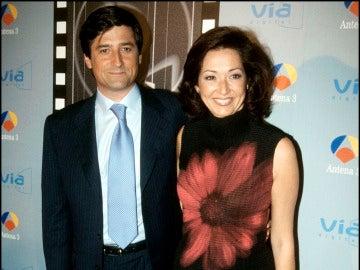 Antonio Hidalgo y Ana Rosa Quintana, presentadores de 'Sabor a ti'