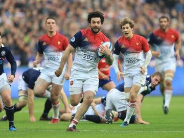 Francia contra Escocia en el VI Naciones
