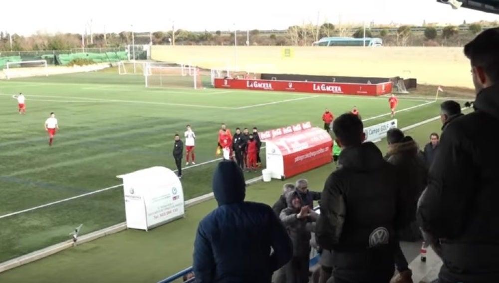 Pelea entre el Presidente de un club salmantino y unos aficionados