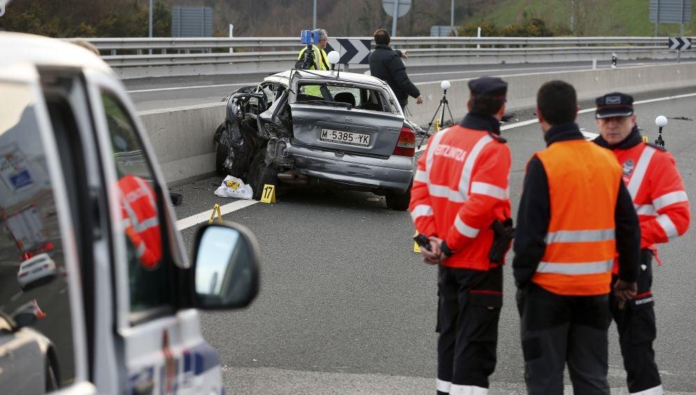 Un accidente del fin de semana en el que fallecieron dos personas