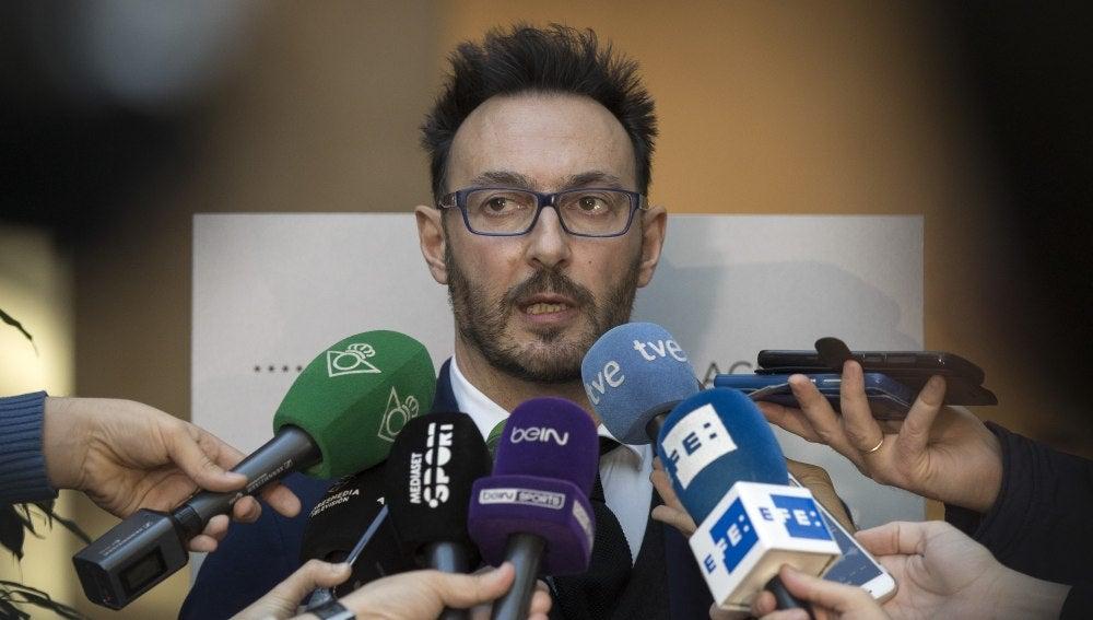 Jose Lorenzo, representante de Zozulya