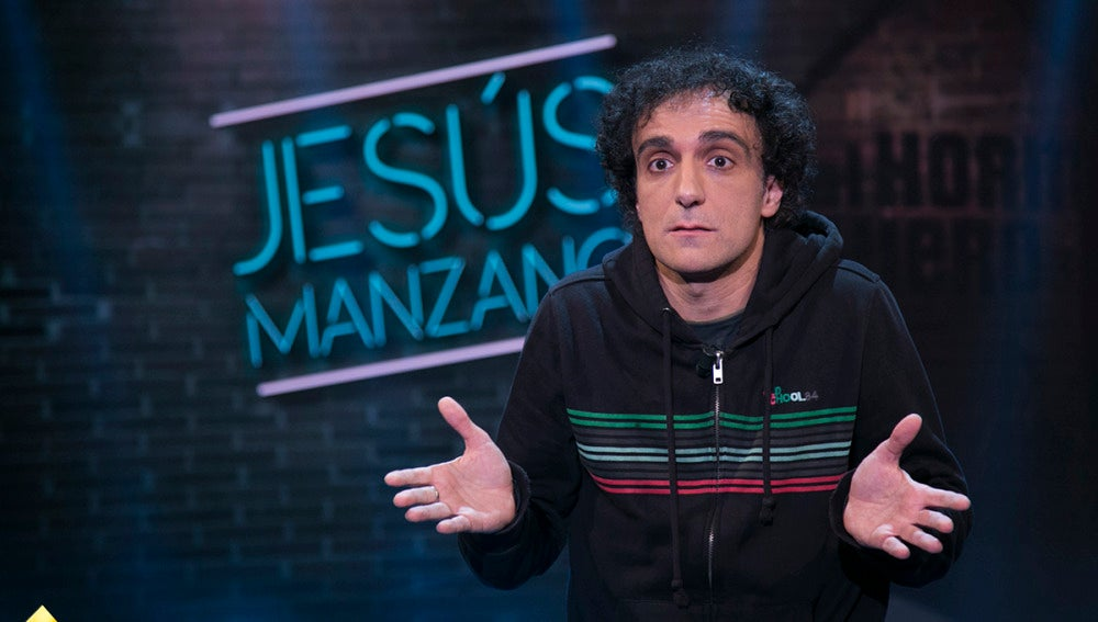 Jesús Manzano nos golea con su humor