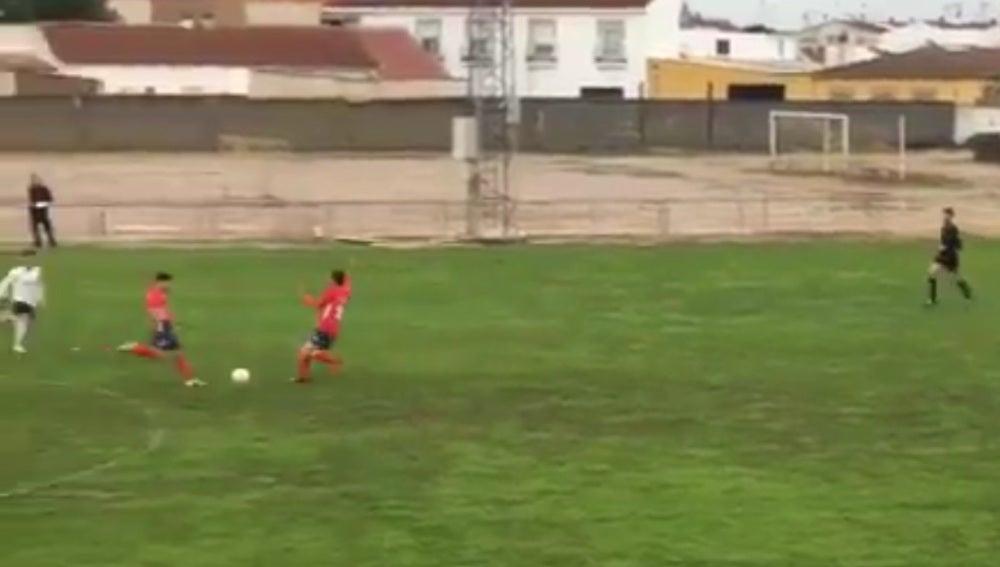 Golazo del Atlético Pueblonuevo
