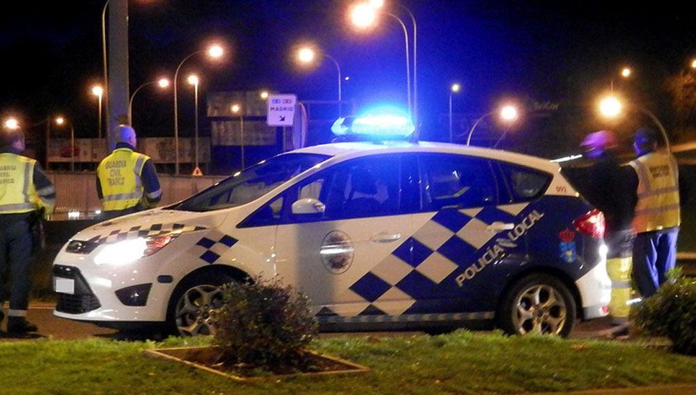 Vehículo de la Policía de Lugo