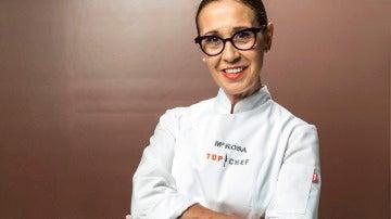 Mª Rosa García, concursante cuarta 'Top Chef'
