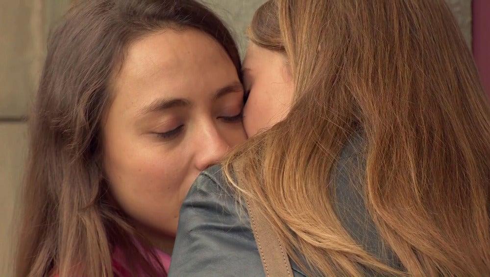 La enternecedora despedida de Alba y Sophie