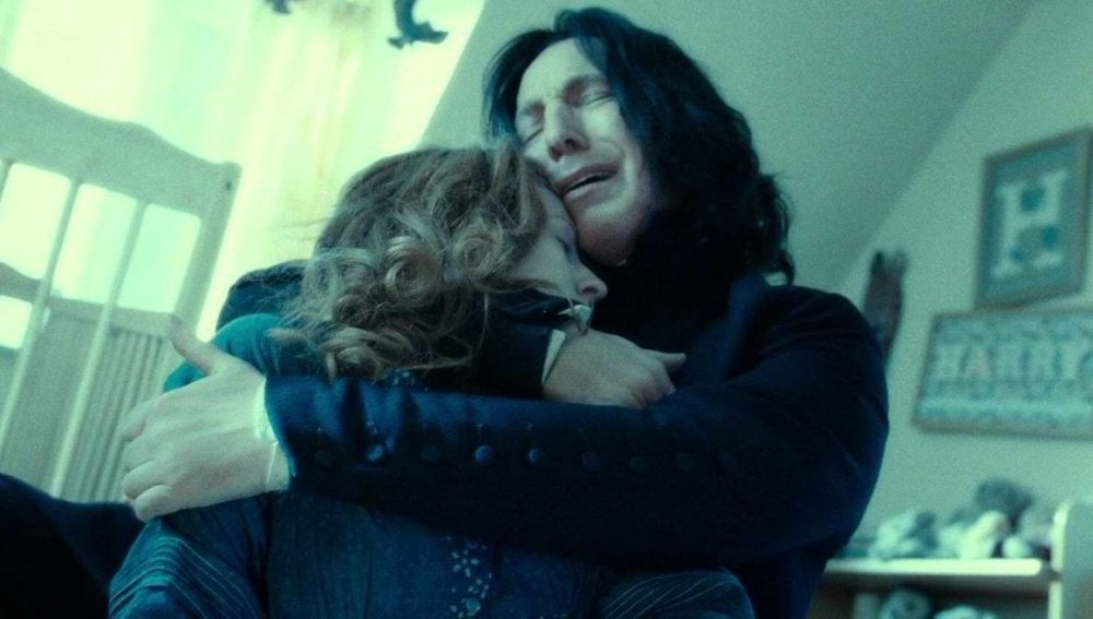 Snape y Lily Potter