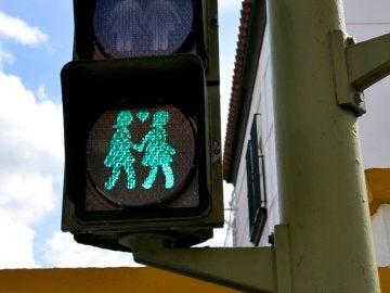 Semáforo en San Fernando