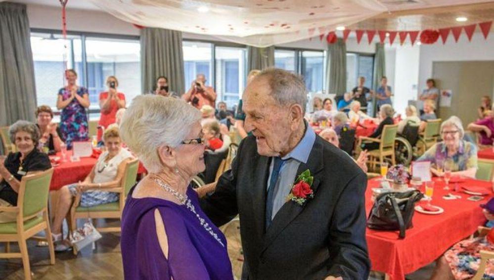 El matrimonio durante la celebración