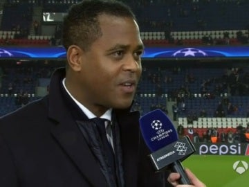 Patrick Kluivert, director de fútbol del PSG