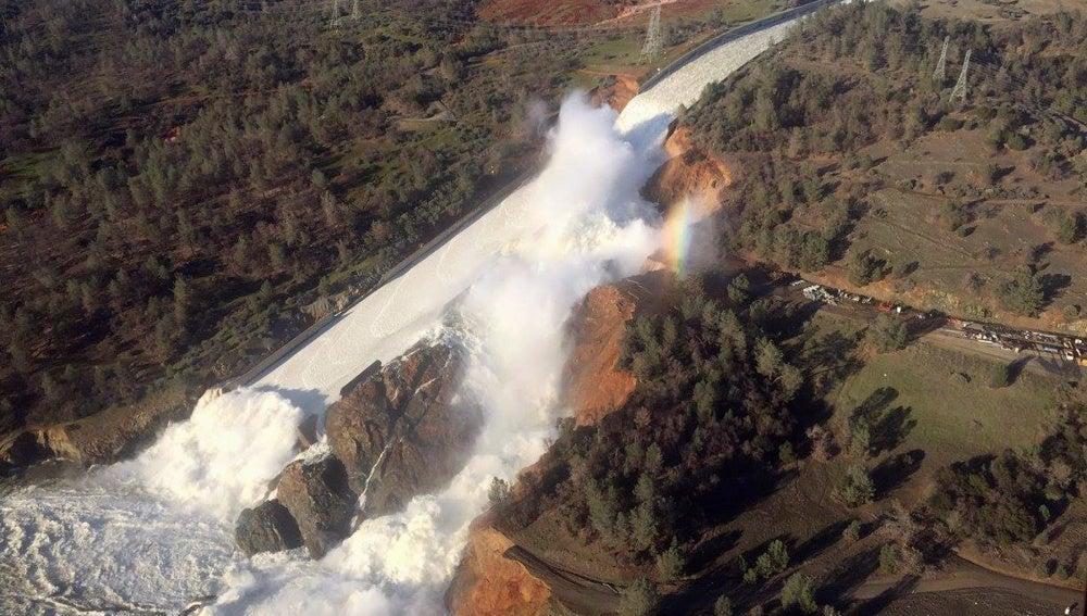 La presa Oroville, en California