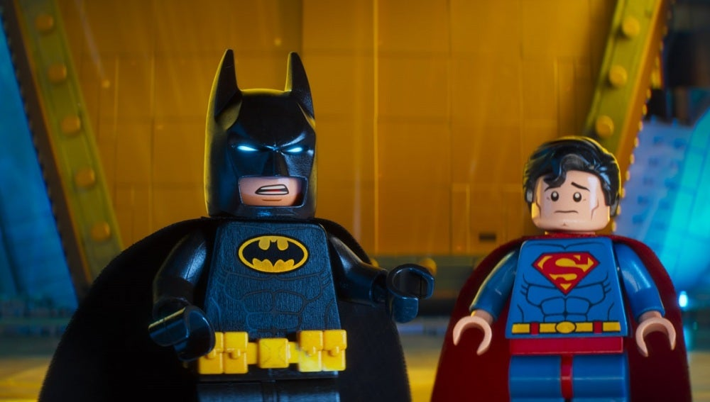 Batman y Superman son 'amienemigos' en 'Batman: La Lego Película'